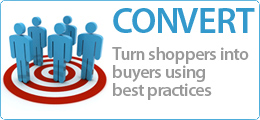 Ecommerce Optimization Convert Shoppers into Buyers, increase conversion rates