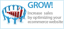 Ecommerce Optimization Grow Ecommerce Sales by increase conversion rates and ecomemrce optimization
