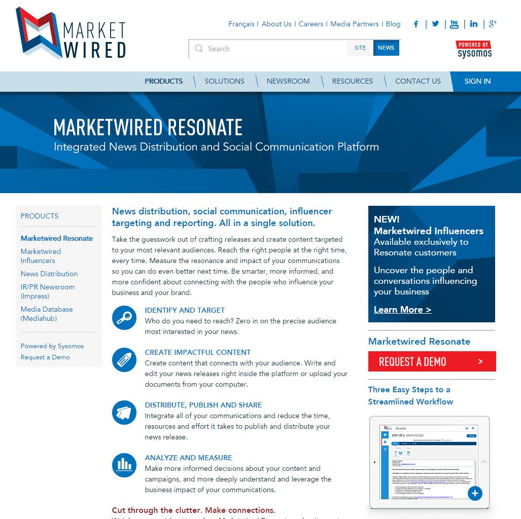 MarketWired Resonate – ecom enterprises, inc.